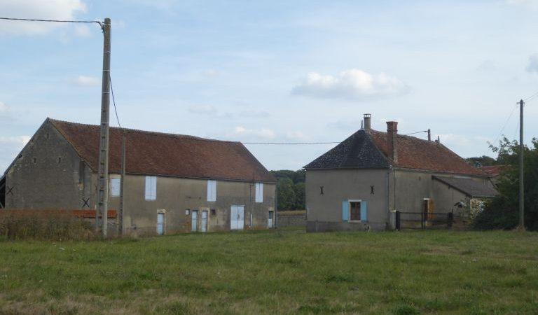Secteur ALLIGNY COSNE Ferme isolée sur 1.3 hectares